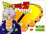 Dragonball Z Pong - Keep the ball in play by moving your character up and down.