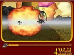 Nimian Flyer II - Stay alive by blowing fireballs at other dragons.